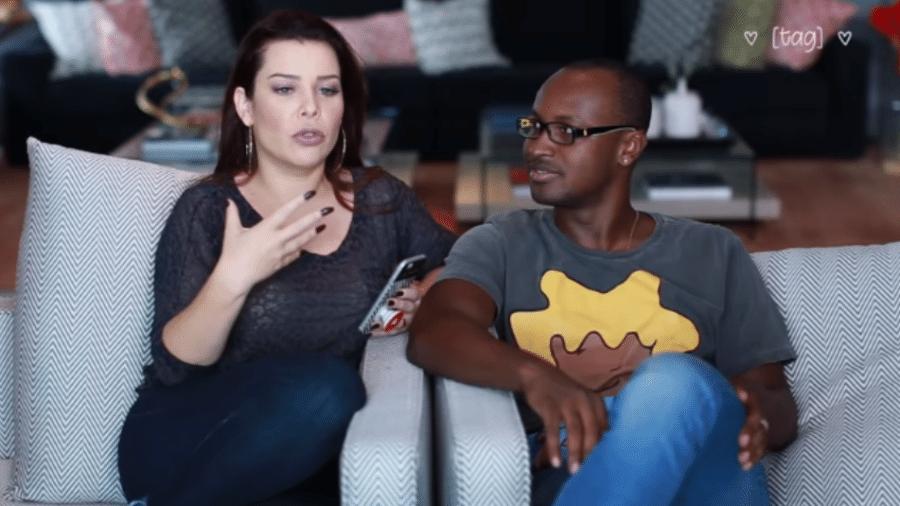 Fernanda Souza e Thiaguinho - Reprodução/YouTube