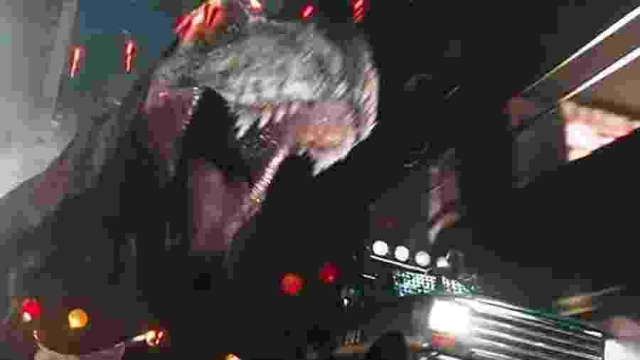 """Cena de """"Jogador Número 1"""" que recria """"Jurassic Park"""" - Reprodução"""