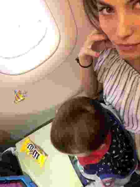 Bruna Hamu avião - Reprodução/Instagram - Reprodução/Instagram