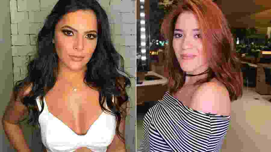 """Emilly Araújo, campeã do """"BBB17"""", e Ana Clara Lima, terceira colocada do """"BBB18"""" - Montagem/UOL/Reprodução/Instagram/emillyaraujoc/anaclaraac"""