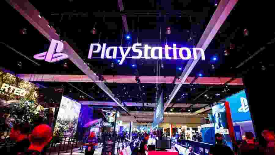 Estande da Sony na E3 2017 - Josh Miller/CNET