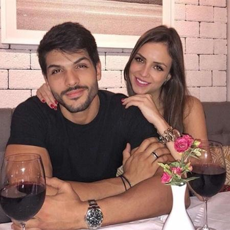 Ex-BBB Lucas curte jantar romântico com Ana Lúcia - Reprodução/Instagram