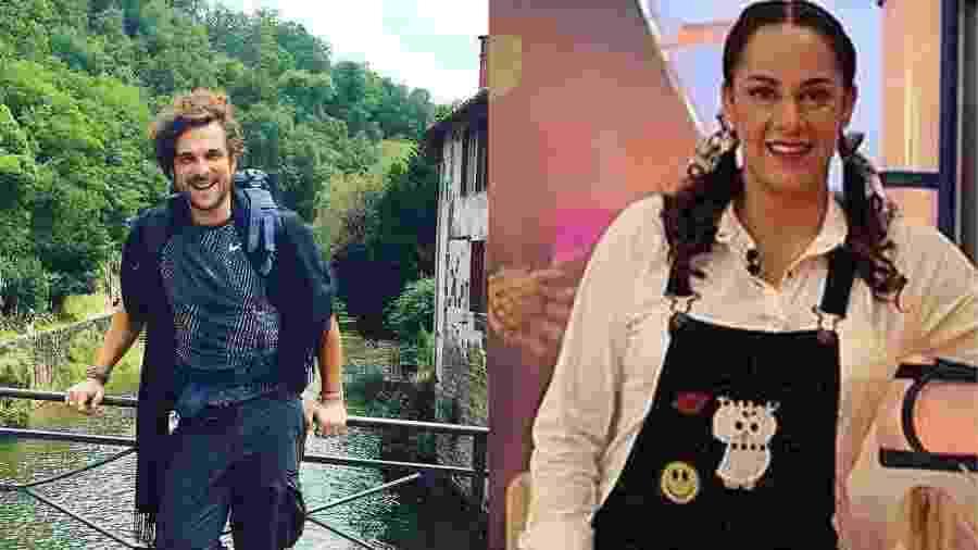 Igor Rickli e Silvia Abravanel seguem a vida sem postar sobre a Copa do Mundo no Instagram - Montagem/UOL