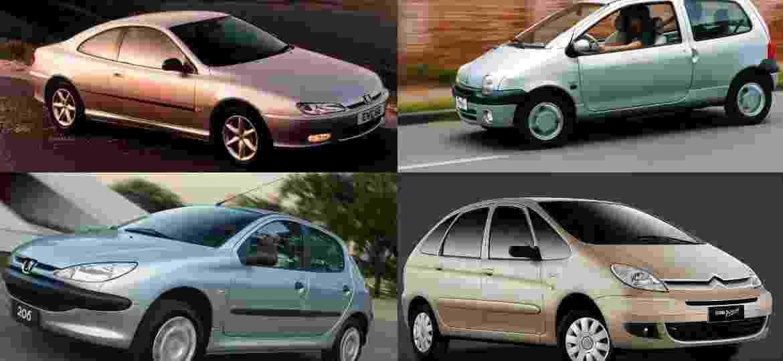 Minivan, compacto e até cupê: franceses têm vários fãs no Brasil - Arte/Divulgação