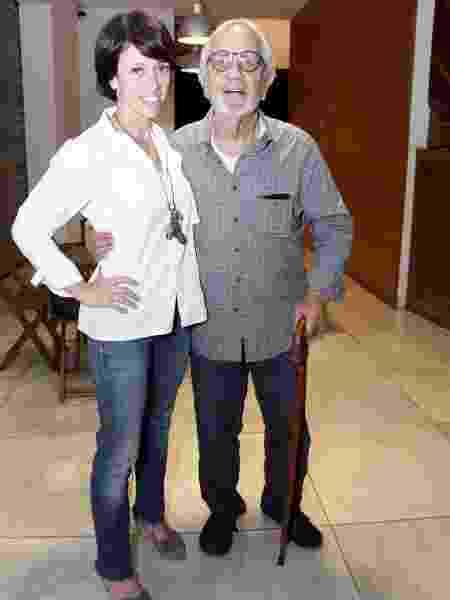 Bel Kutner e o pai, Paulo José - Marcos Ferreira/Brazil News