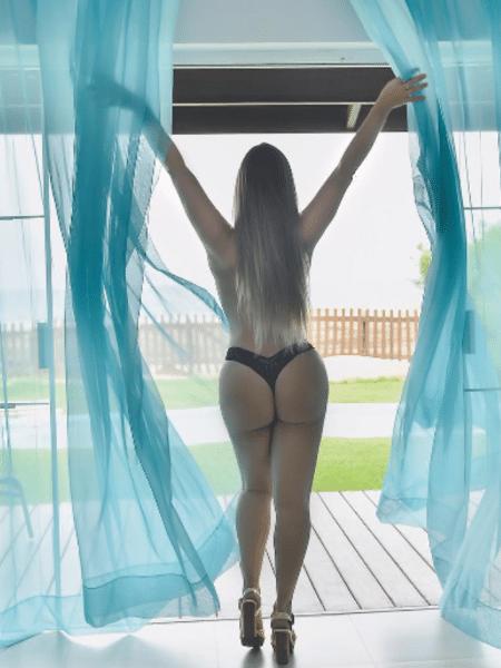 Patricía Leitte refaz cena de Paolla Oliveira em minissérie - Reprodução/Instagram