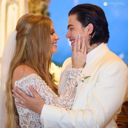 Casamento de Luísa Sonza e Whindersson Nunes - Reprodução/Facebook/Estúdio Megazap