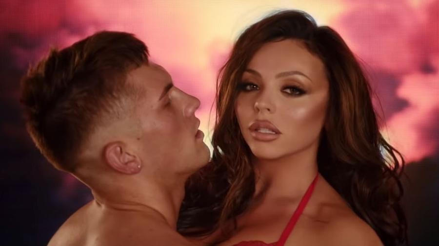 """Cena do clipe """"Think About Us"""", do Little Mix - Reprodução"""