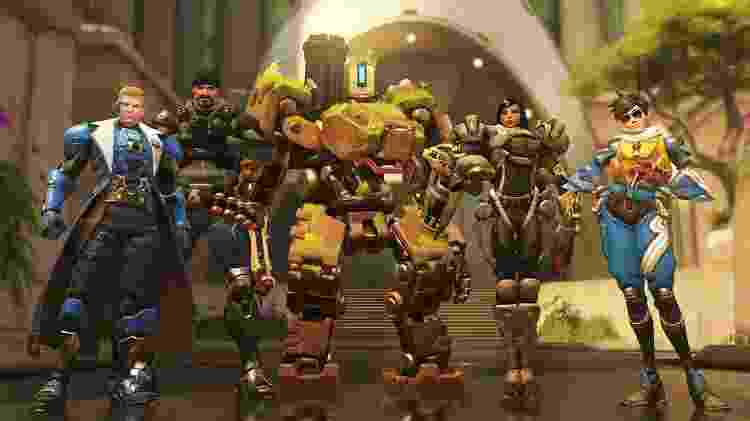 """Com personagens carismáticos e um gameplay inovador, """"Overwatch"""" foi destaque em 2016 - Reprodução/Nvidia"""