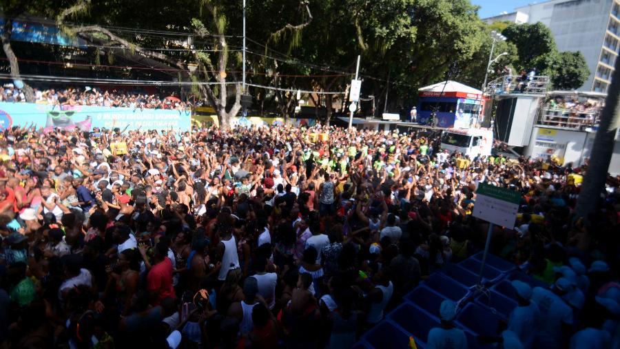 Foliões no Carnaval de Salvador - Jefferson Peixoto/Secom e Valter Pontes/Secom