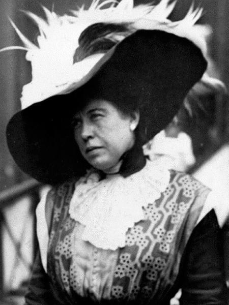 Margaret Brown ganhou prestígio internacional por socorrer passageiros do Titanic durante desastre com navio - Divulgação