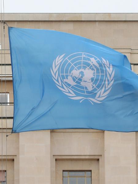Bandeira das Nações Unidas - ONU - Denis Balibouse/Reuters