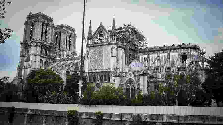 Catedral de Notre-Dame, em Paris - Stephane de Sakutin/AFP