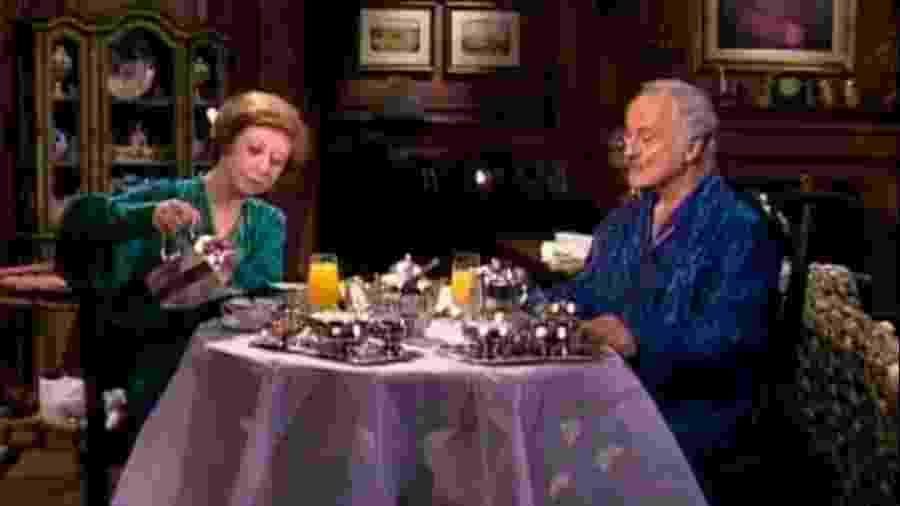 """Fernanda Montenegro e Paula Autran em """"Guerra dos Sexos"""", exibida em 1983 - TV Globo"""