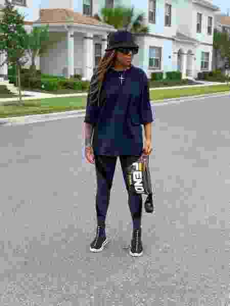 Ludmilla em Orlando - Reprodução/Instagram