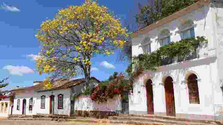 Casario colonial do centro histórico é aproveitado por pousadas de charme e comércio de Tiradentes, em Minas Gerais - Agência Brasil