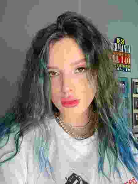Bella Thorne muda a cor do cabelo - REPRODUÇÃO/INSTAGRAM