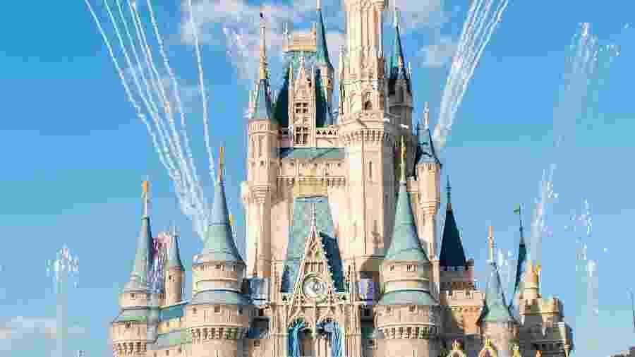 Castelo da Disney - Getty Images