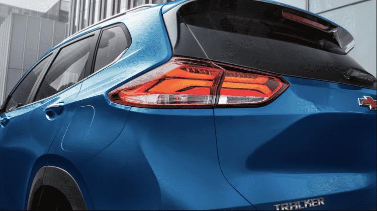 Chevrolet Tracker Premier 2020 traseira - Divulgação - Divulgação