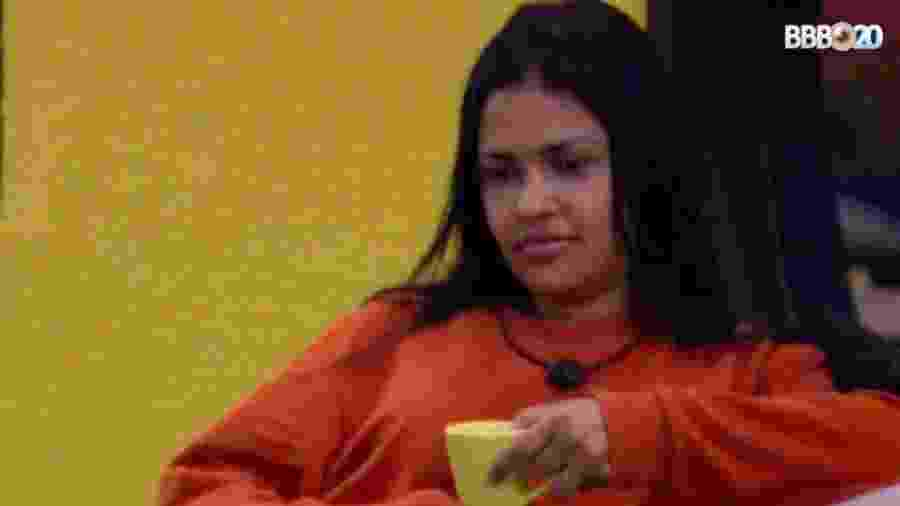 Flayslane conversa com Babu após ser chamada no confessionário - Reprodução/GlobosatPlay