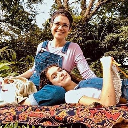 Sandra Annenberg e sua filha, Elisa - Reprodução/Instagram