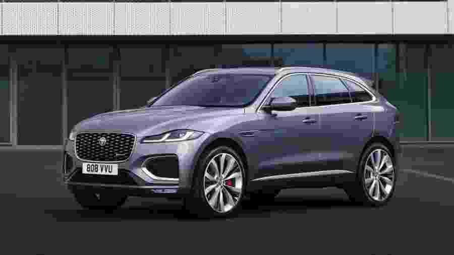 Jaguar F-Pace 2021 - Divulgação