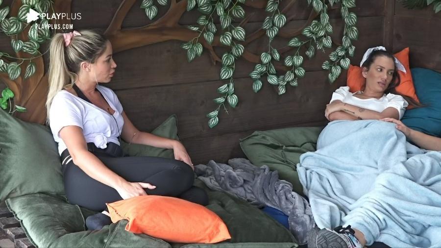 A Fazenda 2020: Carol Narizinho conta que vai votar em Rodrigo - Reprodução/Playplus