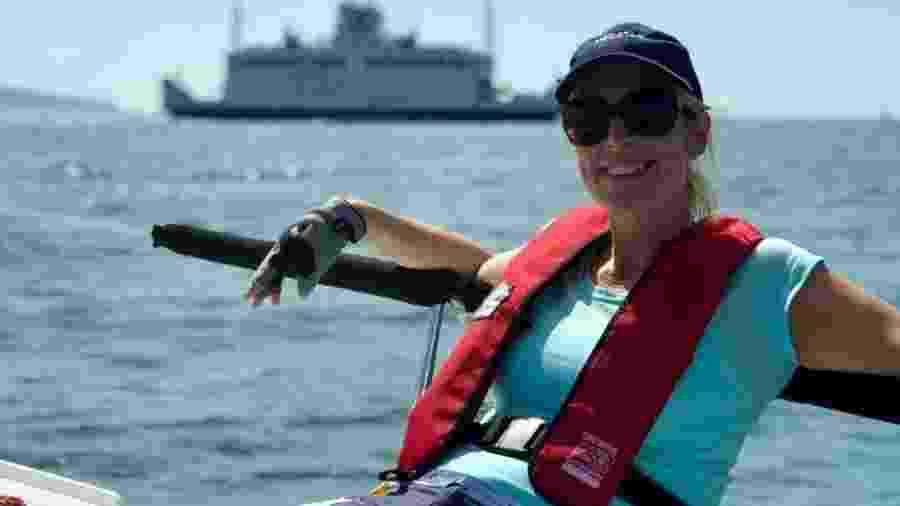 Depois de ter ficado doente em março, Vicky Bourne ainda apresenta alguns sintomas em outubro - Vicky Bourne - BBC News Brasil