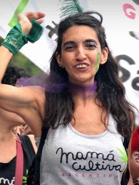Valeria Salech, presidente da ONG Mamá Cultiva Argentina - Arquivo pessoal