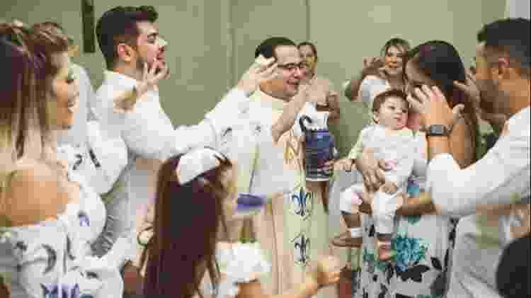 Cristiano batizado - Divulgação/Matheus Salles Fotógrafo - Divulgação/Matheus Salles Fotógrafo