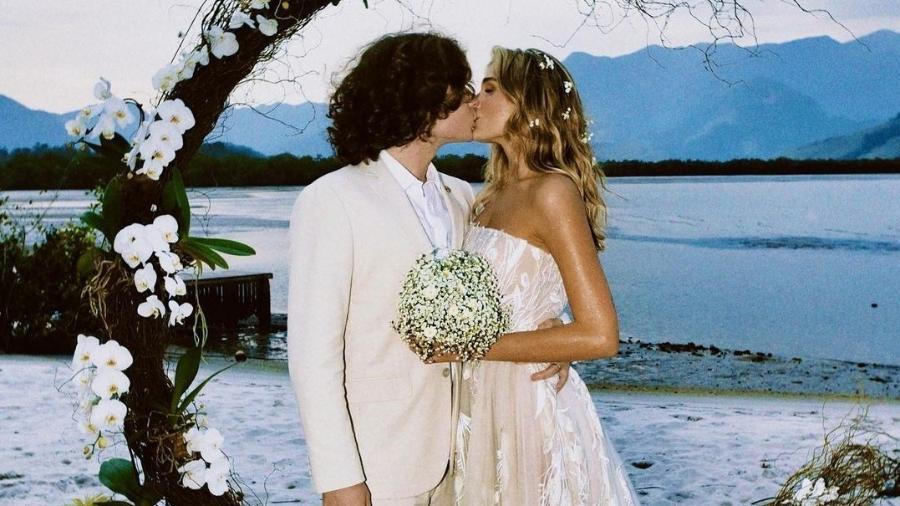 Sasha Meneghel publica foto da cerimônia de seu casamento com João Figueiredo - Reprodução/Instagram