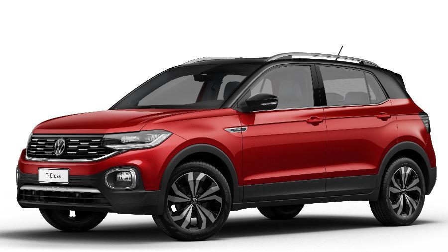Volkswagen T-Cross 2022 - Divulgação