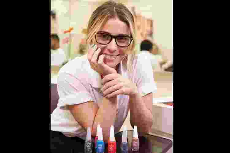 Giovanna Antonelli tem dia de manicure no Rio de Janeiro - Juliana Coutinho/ Divulgação