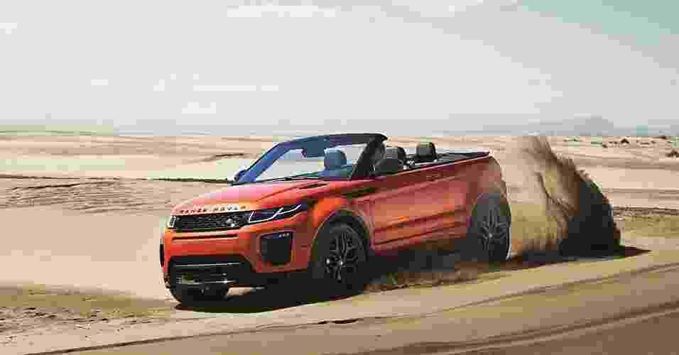 Land Rover Range Rover Evoque conversível - Divulgação