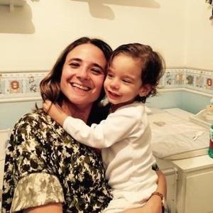 Claudia fez o filho, Caio, dormir sozinho com a ajuda de uma consultora de sono - Arquivo Pessoal