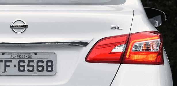 Nissan Sentra SL lanternas - Murilo Góes/UOL - Murilo Góes/UOL