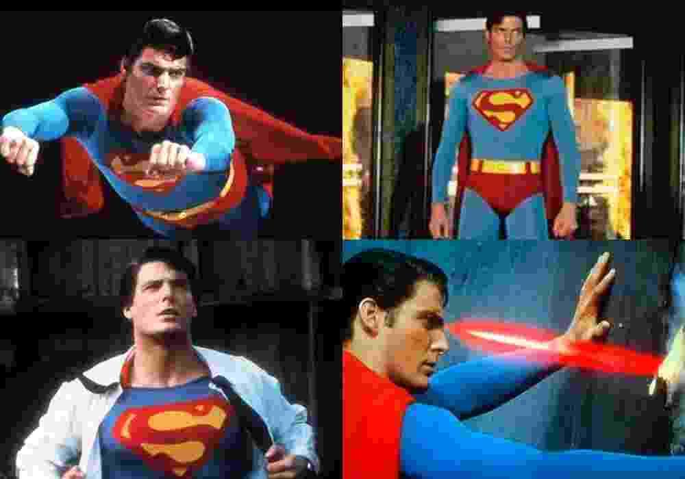 """Cenas do filme """"Superman 2 - A Aventura Continua"""" - Christopher Reeve - Montagem/Reprodução"""