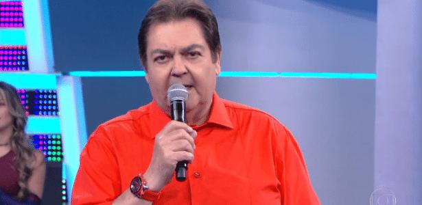 Faustão soltou palavrão no ar ao se referir ao governo do presidente Michel Temer (PMDB) - Reprodução/TV Globo