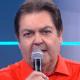 Faustão manda beijo para Selena Gomez e vira piada nas redes sociais - Reprodução/TV Globo