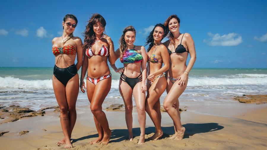 """Elenco feminino do reality show """"De Férias Com o Ex"""" - Divulgação/MTV"""