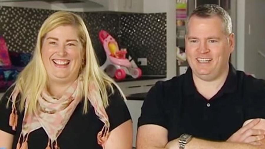 """Kate e Peter Hill contaram sua história a programas matinais da Austrália e ao tabloide """"The Sun"""" - Reprodução/Today Show"""