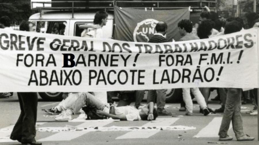 Fora, Chico Barney! Comentaristas se reúnem em marcha contra colunista do UOL - Reprodução