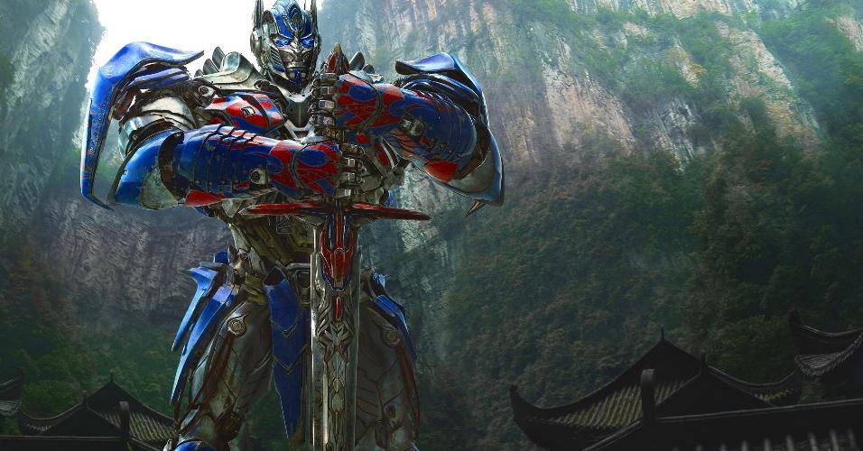 """Cena de """"Transformers: A Era da Extinção"""" (2014), de Michael Bay"""