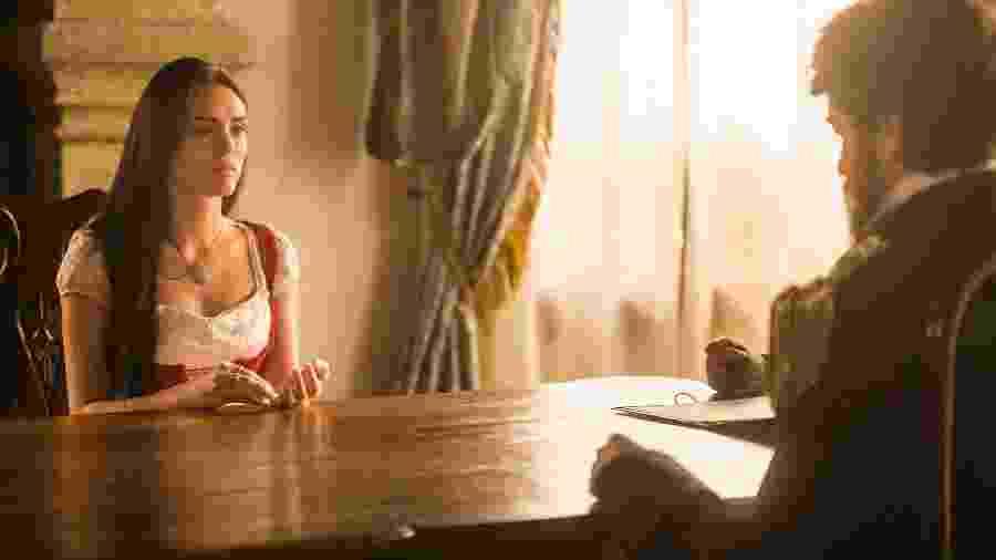 """Em """"Novo Mundo"""", Thomas e Anna se enfrentam em audiência pela guarda da filha - Divulgação/TV Globo"""