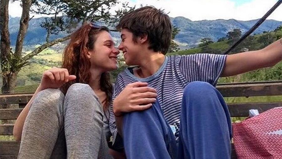 Lara Tremouroux e a namorada Bia Novaes - Reprodução/Instagram