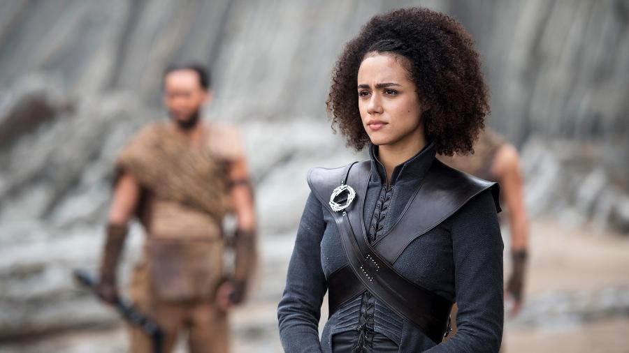 """A personagem Missandei, de """"Game of Thrones"""" - Divulgação/HBO"""