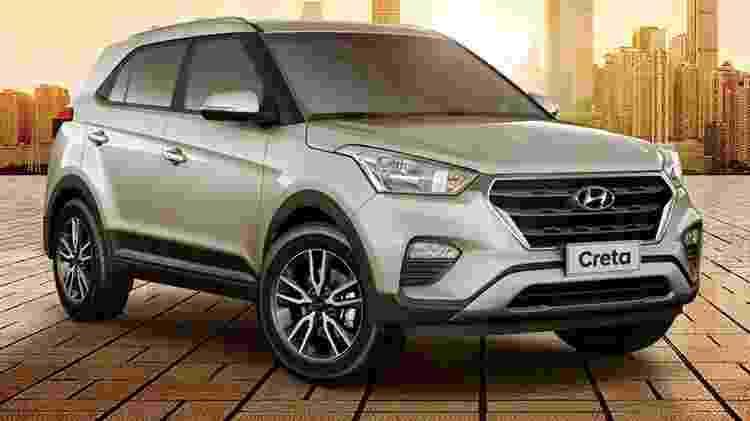 Hyundai Creta 1.6 Automático - Divulgação - Divulgação