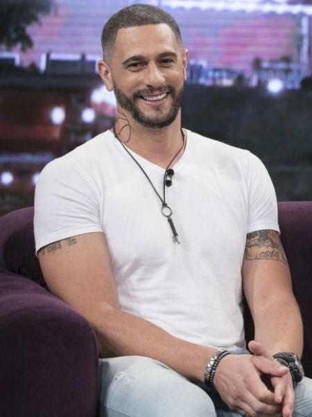 "Ex-BBB Daniel no ""Programa do Porchat"" - Edu Moraes/RecordTV"