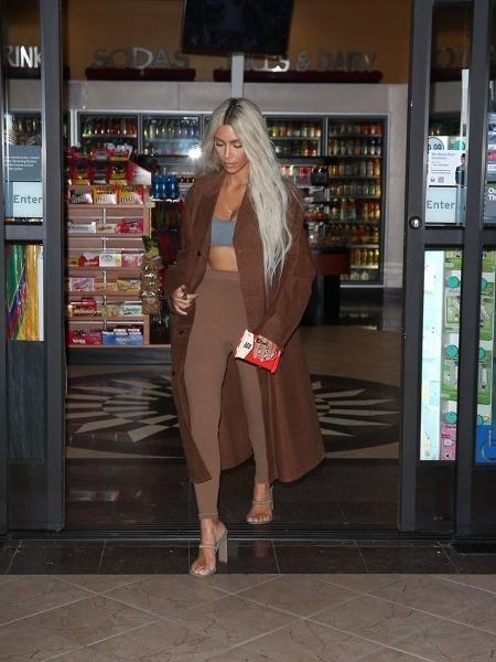Kim Kardashian em campanha da Yeezy - Reprodução/Twitter