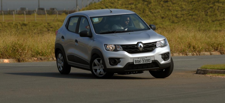 Kwid é único modelo disponível na loja online da Renault por enquanto - Murilo Góes/UOL
